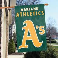 Oakland Athletics Appliqué 2-Sided Banner Flag