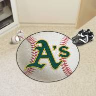 Oakland Athletics Baseball Rug