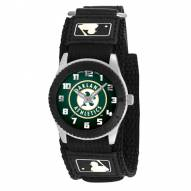 Oakland Athletics Black Rookie Kids Watch