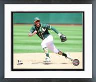 Oakland Athletics Brett Lawrie 2015 Action Framed Photo