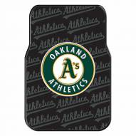 Oakland Athletics Car Floor Mats