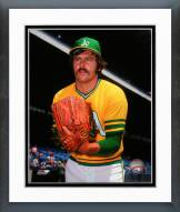 Oakland Athletics Catfish Hunter Posed Framed Photo