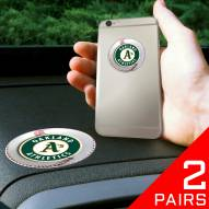 Oakland Athletics Cell Phone Grips - 2 Pack