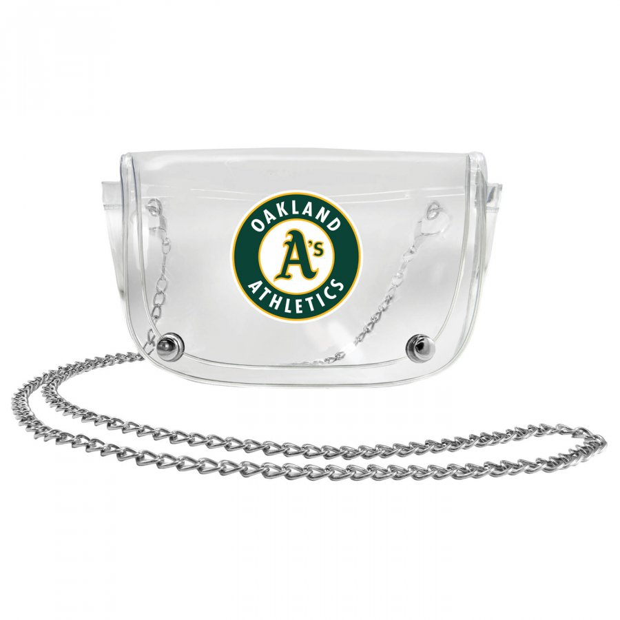 Oakland Athletics Clear Waistpack