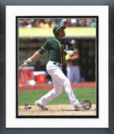 Oakland Athletics Coco Crisp 2014 Action Framed Photo