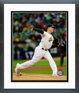 Oakland Athletics Dan Straily 2014 Action Framed Photo