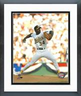 Oakland Athletics Dave Stewart Action Framed Photo