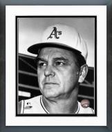 Oakland Athletics Dick Williams Posed Framed Photo