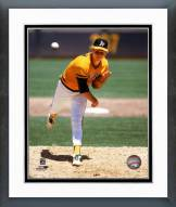 Oakland Athletics Don Sutton 1985 Action Framed Photo