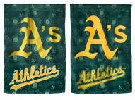 Oakland Athletics Double Sided Glitter Flag
