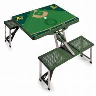 Oakland Athletics Folding Picnic Table