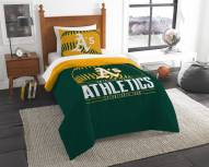 Oakland Athletics Grand Slam Twin Comforter Set