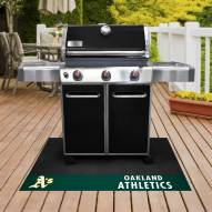 Oakland Athletics Grill Mat