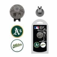 Oakland Athletics Hat Clip & Marker Set