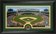 Oakland Athletics Infield Dirt Coin Panoramic Photo Mint