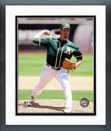 Oakland Athletics Jeff Samardzija 2014 Action Framed Photo