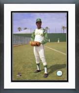 "Oakland Athletics John ""Blue Moon"" Odom Framed Photo"