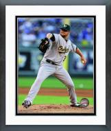 Oakland Athletics Jon Lester 2014 Action Framed Photo
