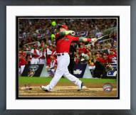 Oakland Athletics Josh Donaldson 2014 Home Run Derby Framed Photo