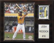 "Oakland Athletics Josh Reddick 12"" x 15"" Player Plaque"