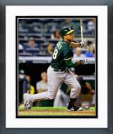 Oakland Athletics Kyle Blanks 2014 Action Framed Photo