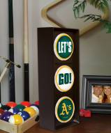 Oakland Athletics Let's Go Light