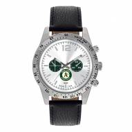 Oakland Athletics Men's Letterman Watch
