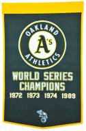 Winning Streak Oakland Athletics Major League Baseball Dynasty Banner