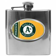 Oakland Athletics MLB 6 Oz. Stainless Steel Hip Flask