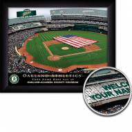 Oakland Athletics Personalized Framed Stadium Print