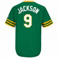 Oakland Athletics Reggie Jackson Cooperstown Replica Baseball Jersey