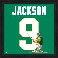 Oakland Athletics Reggie Jackson Uniframe Framed Jersey Photo