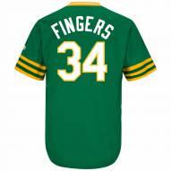 Oakland Athletics Rollie Fingers Cooperstown Replica Baseball Jersey