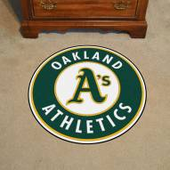 Oakland Athletics Rounded Mat