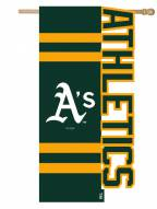 Oakland Athletics Applique Flag