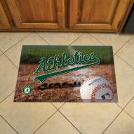 Oakland Athletics Scraper Door Mat
