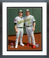 Oakland Athletics Sonny Gray & Stephen Vogt 2015 MLB All-Star Game Framed Photo