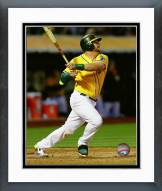 Oakland Athletics Stephen Vogt 2015 Action Framed Photo