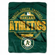 Oakland Athletics Structure Throw Blanket