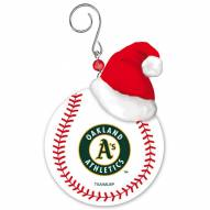 Oakland Athletics Team Ball Tree Ornament
