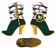 Oakland Athletics Team Boot Ornament