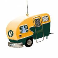 Oakland Athletics Team Camper Ornament