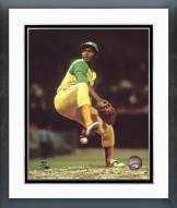 Oakland Athletics Vida Blue Pitching Framed Photo