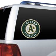 Oakland Athletics Window Film