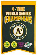 Oakland Athletics Champs Banner