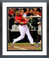 Oakland Athletics Yoenis Cespedes 2014 Home Run Derby Framed Photo