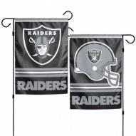 "Oakland Raiders 11"" x 15"" Garden Flag"