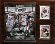 "Oakland Raiders 12"" x 15"" Team Plaque"