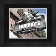 Oakland Raiders 13 x 16 Personalized Framed Sports Pub Print