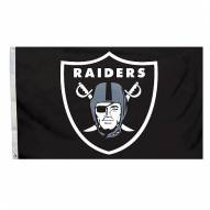 Oakland Raiders 3' x 5' Logo Flag